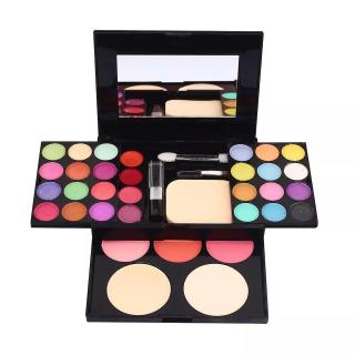 ADS ROSSE Make Up Set Pallate - Eyeshadow Pallette Make-Up Kit Lengkap Komplit Lipstik Bedak Powder Fashion Colours 24 Warna Toko Diana Indonesia thumbnail