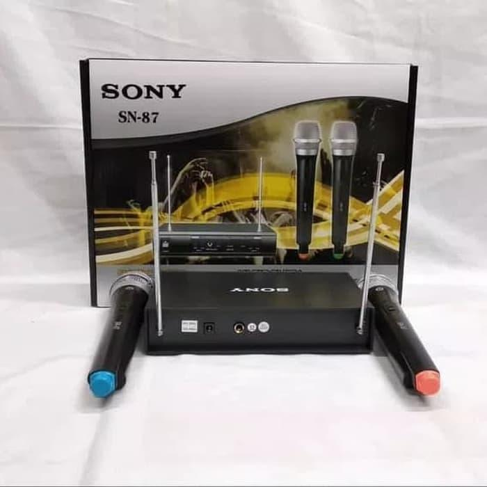 Sony Microphone Mic wireless Double 699 ( Handheld ) Suara MantapIDR324000. Rp 325.000
