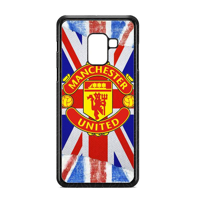 Casing For Samsung Galaxy J6 2018 UK Flag Manchester United J0258