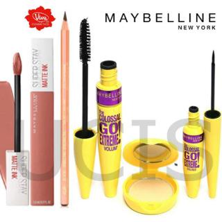 ucis - Maybelline Colossal Paket 3 In 1 Mascara Eyeliner Powder Maybelline lipstik matte maybelline pensil alis viva Paket Make Up Maybelline 5in1 - Terlaris thumbnail