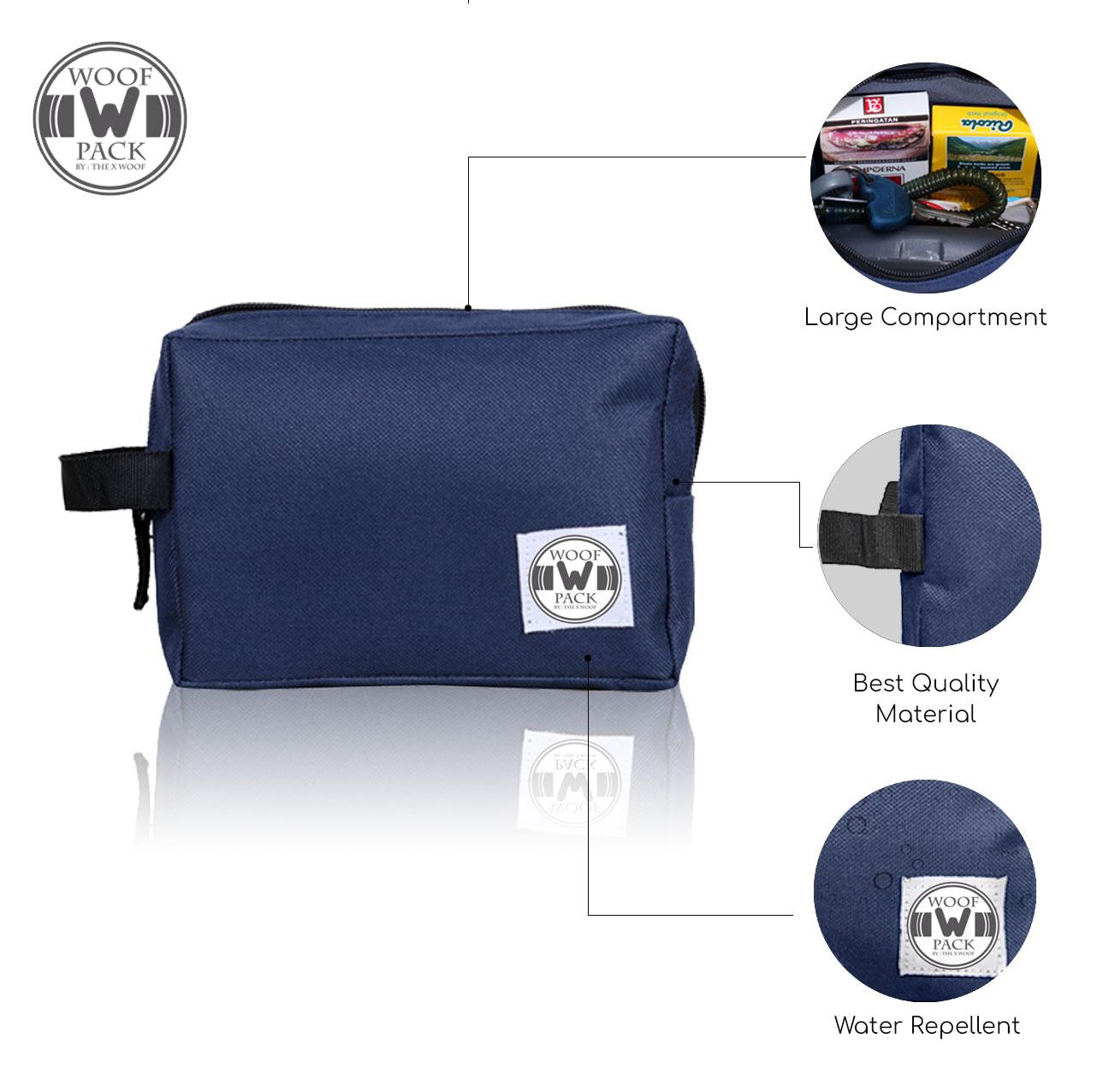 Woof Pack - Daily Pouch Tpouch 2.0x Blue By The X Woof Bag.