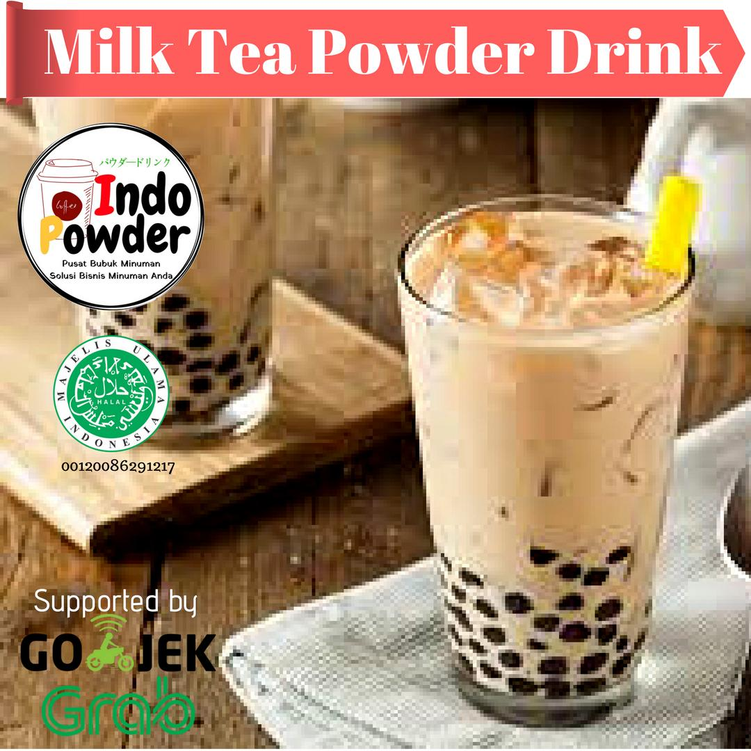Milk Tea Powder 1kg / Powder Milk Tea 1kg / Bubuk Milk Tea 1kg / Milk Tea Bubuk 1kg / Bubuk Minuman Milk Tea 1kg / Bubuk Minuman Rasa Milk Tea By Indopowder.