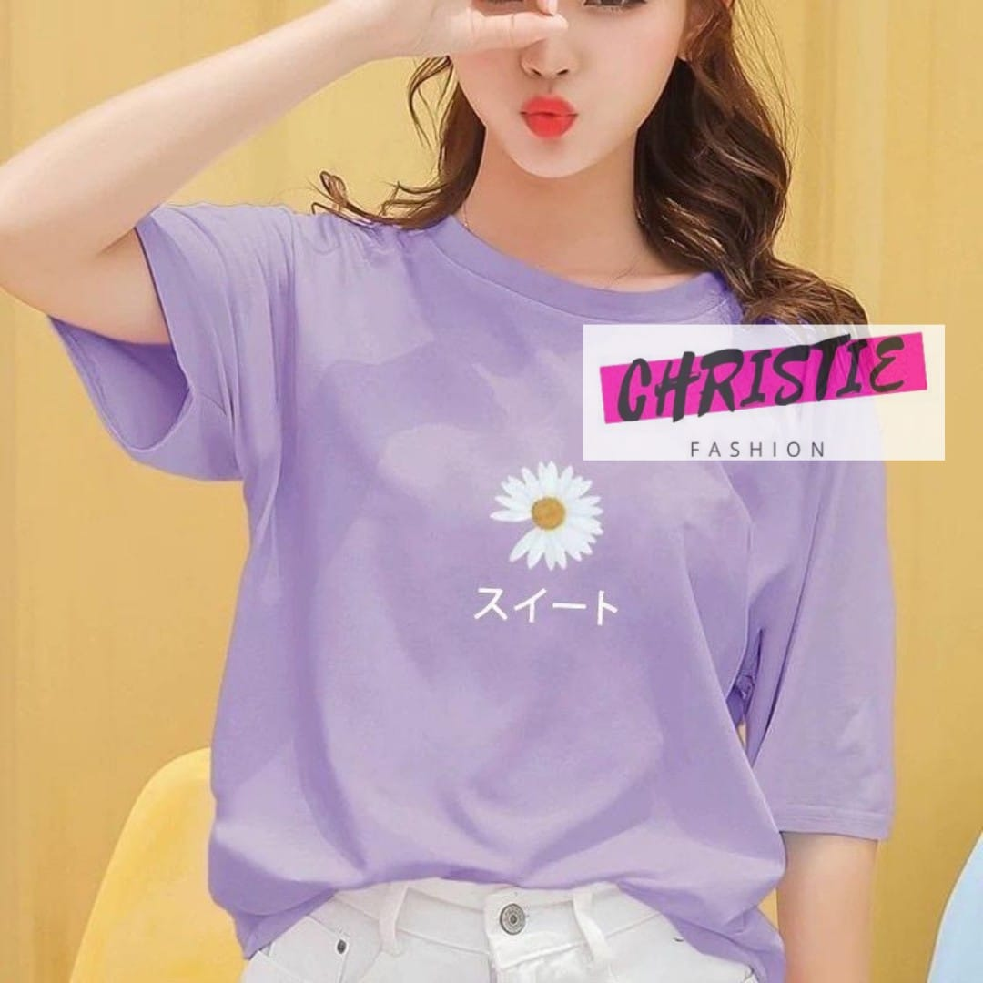 Cod Kaos Daisy Japan S Xxl 13 Warna T Shirt Korean Peaceminusone Cute Aesthetic Trending Fashion Style Lazada Indonesia
