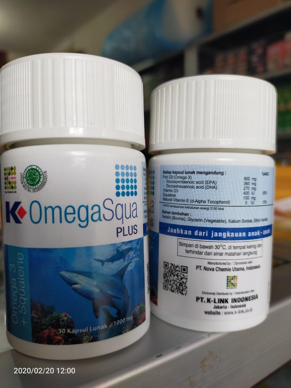 Omega Squa Plus Klink Original Omega K Link Omegasqua 30kpl Lazada Indonesia