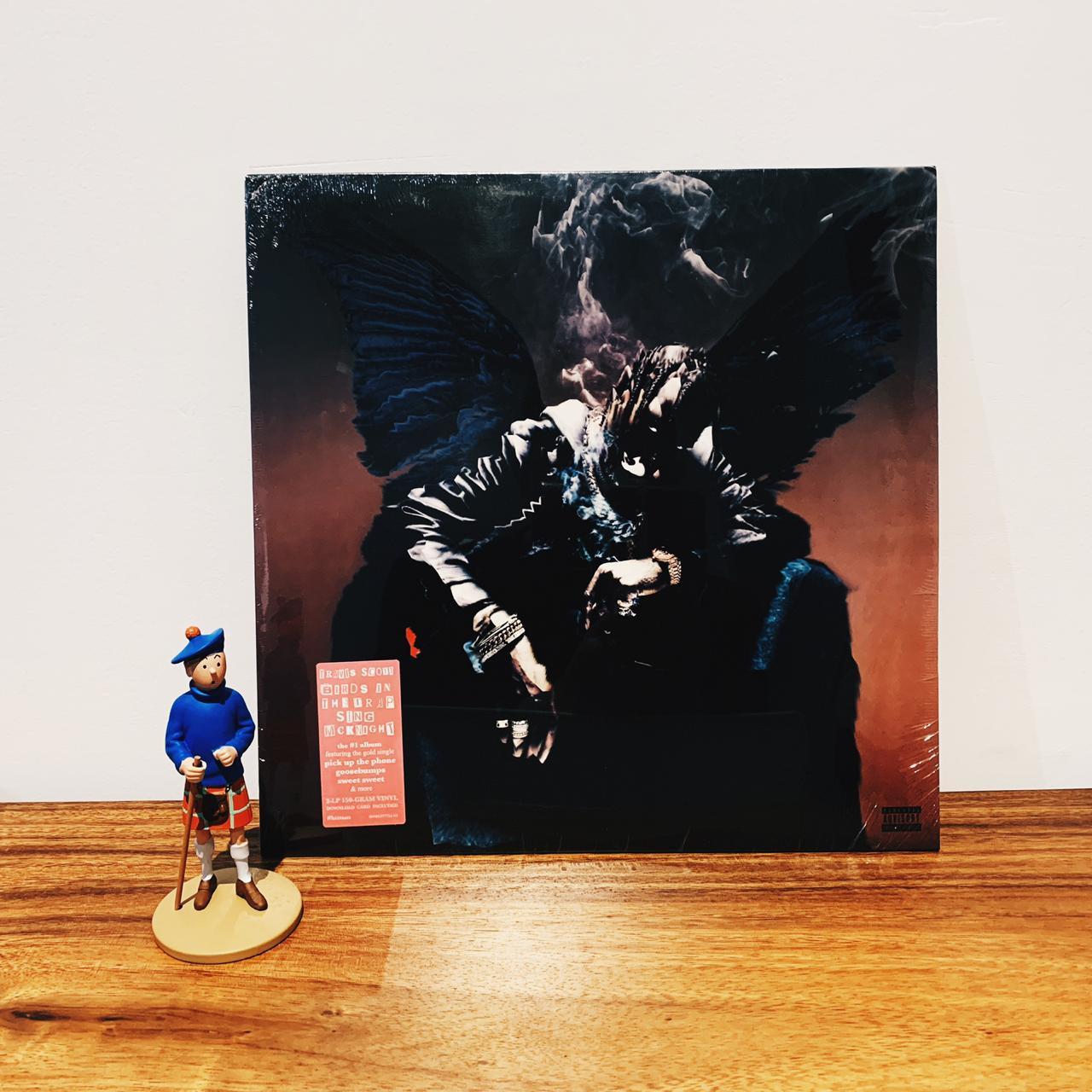 Piringan Hitam/vinyl/lp Travis Scott - Birds In The Trap Sing Mcknight By Playlist Record Store