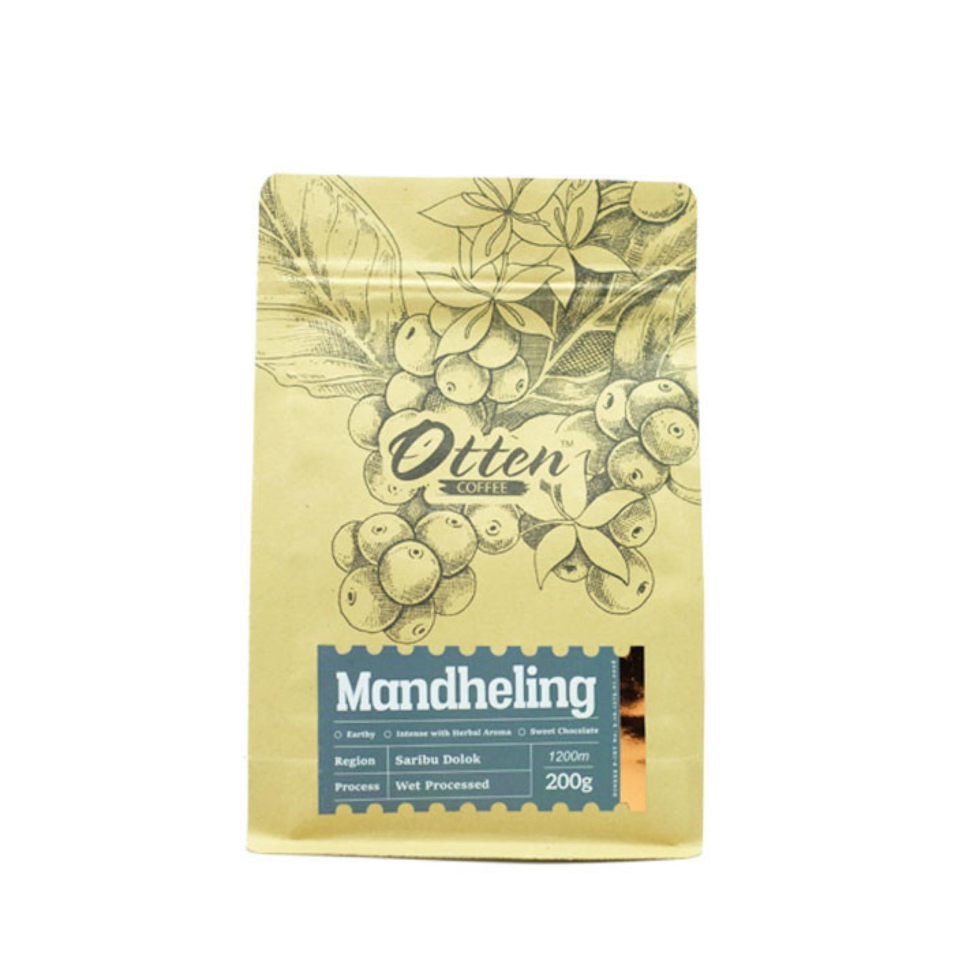 Otten Coffee Arabica Mandheling 200g - Biji Kopi