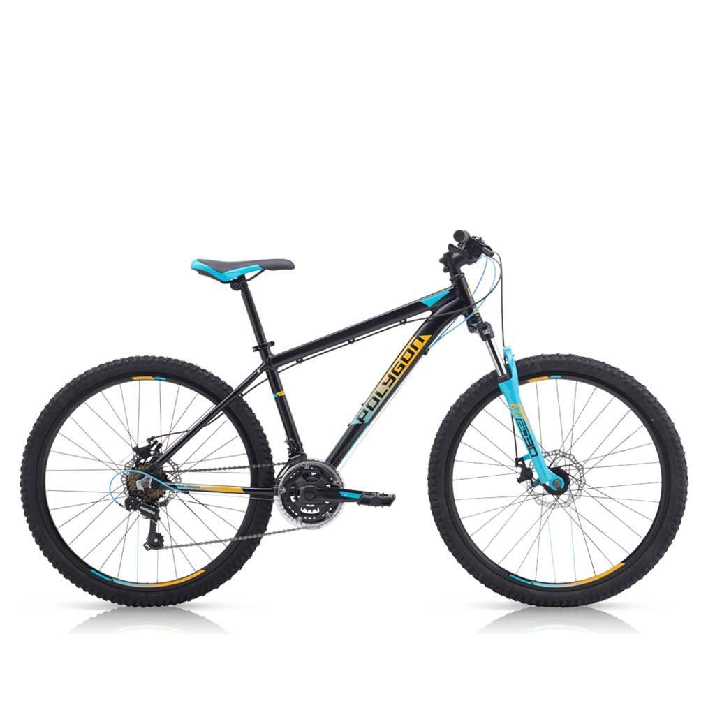 Dikirim Siap Pakai Sepeda Polygon Monarch 5 26 Inci AL6 Alloy 3x7Sp Cakram Mekanis XC Sport MTB