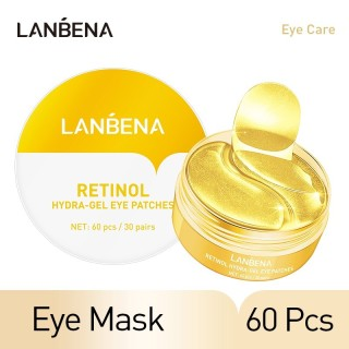LANBENA Retinol Hydra Gel Collagen Eye Mask Patches 60 Pcs thumbnail