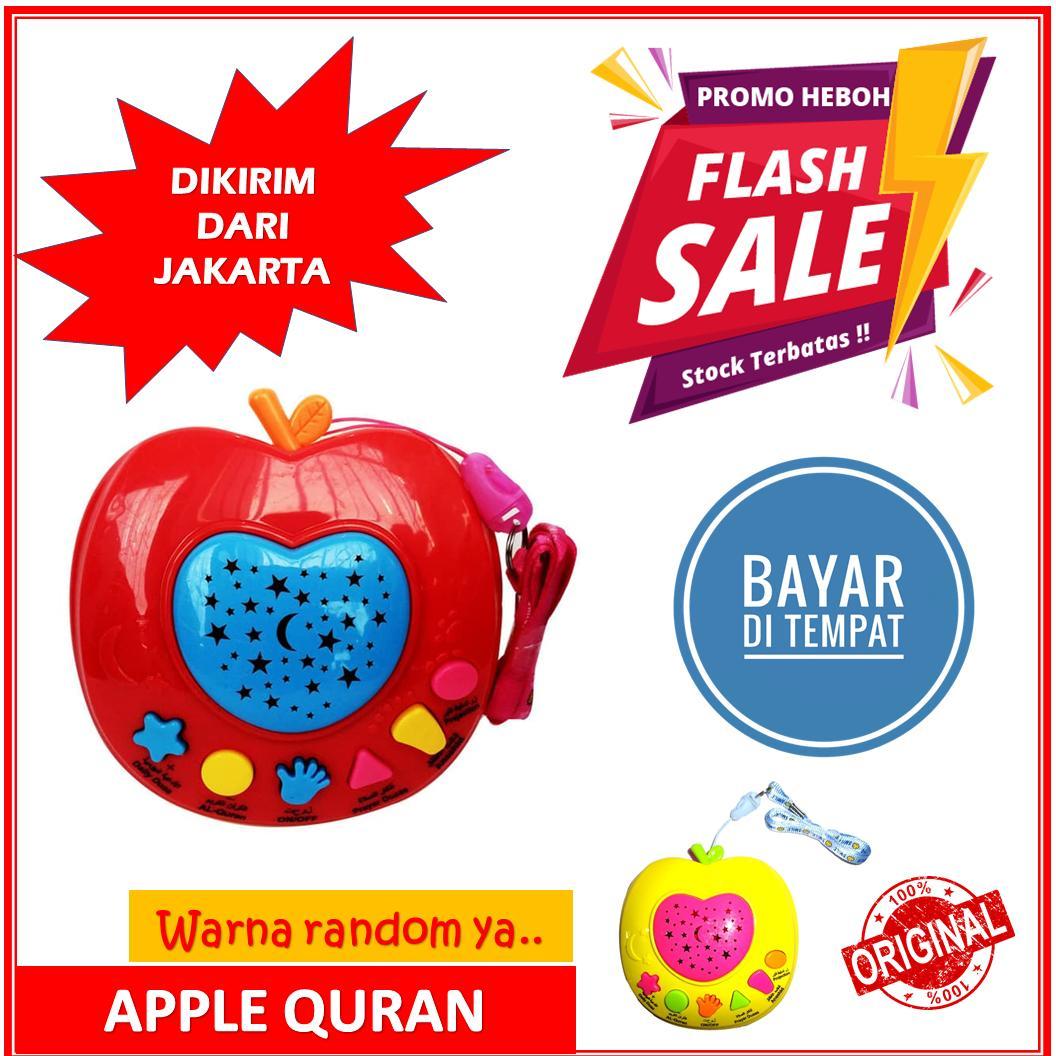 BISA BAYAR DI TEMPAT (cod) - Apple Learning Quran Apple Qur'an Mainan Edukasi Anak Muslim Apple Al Quran FLASH SALE HARI INI