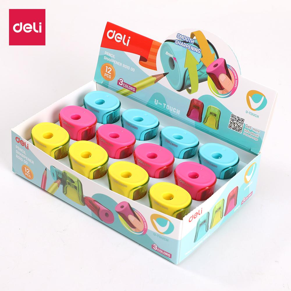 Deli Er01000 One Hole Sharpener- For Standard Pencil(mix) -U Touch By Deli Official Store.