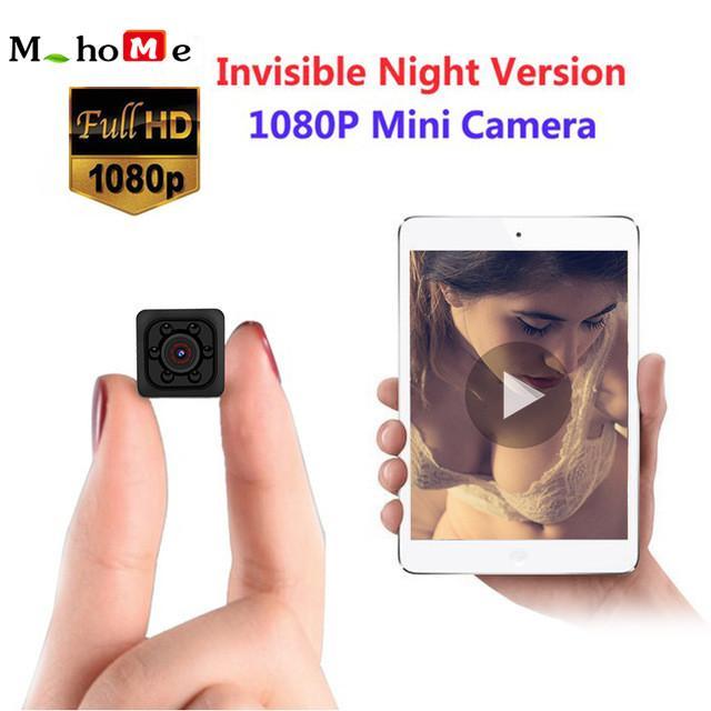M_home Micro Sq11 Hd 1080p 200 Mah Kapasitas Sensor Modus Malam Kamera Video Camcorder Dvr Dv Alat Perekam Gerak Camcorder By M_home.