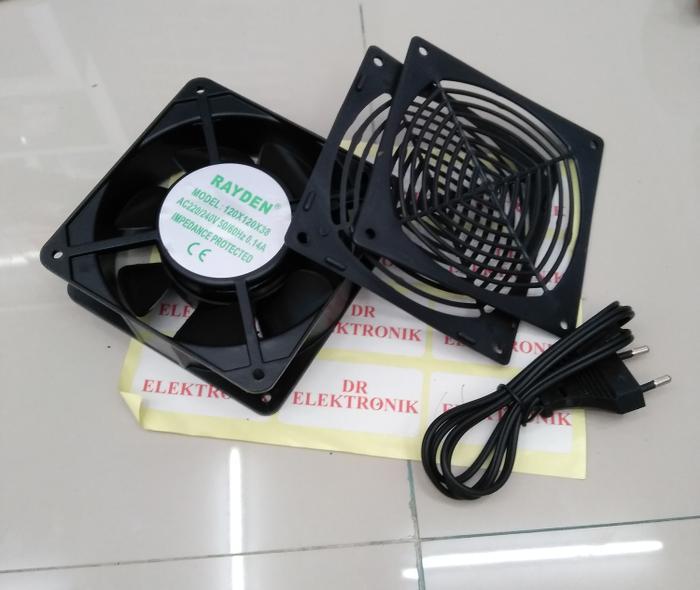 Cooling Fan / Exhaust Fan / Kipas Pendingin Rayden AC 220V 220 volt 12 - ready stock