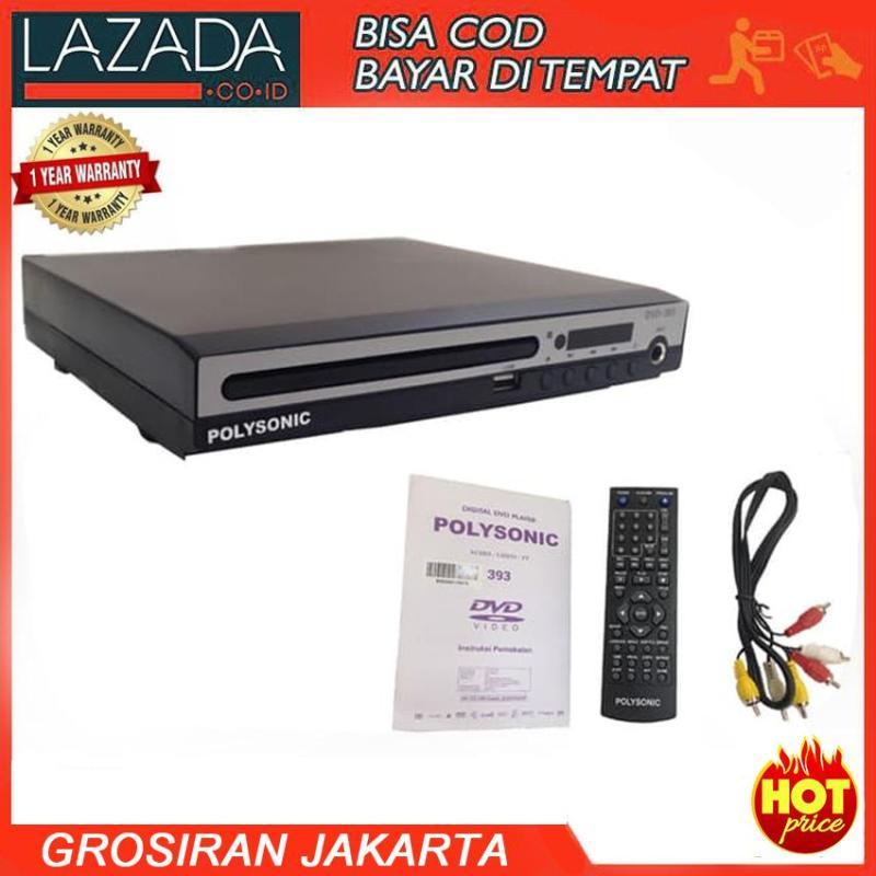 Polysonic DVD-393 VCD, DVD & MP3 - DVD Karaoke Player USB
