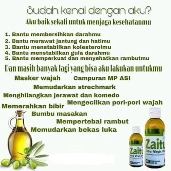 Minyak Zaitun Hpai Minyak Zaitun 60ml Extra Virgin Olive Oil Adalah Minyak Zaitun Berkualitas Terbaik Atau Grade A 100 Original Lazada Indonesia