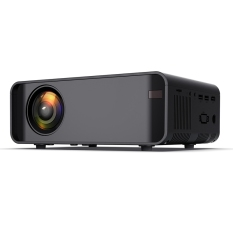 W80 Lcd Projector Full HD 1920X1080P with Wifi Home Theatre Movie for Smart Phone PC TV BOX Game Console Etc(EU Plug)