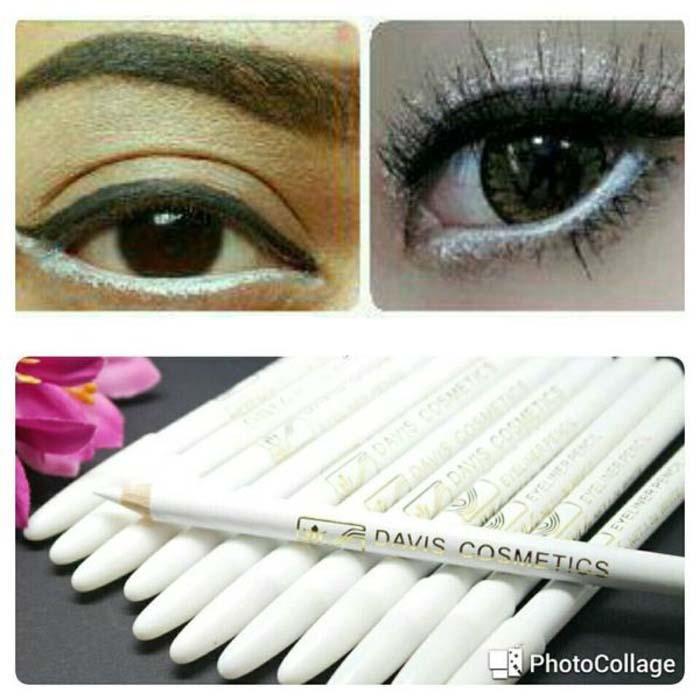 Davis Eyeliner Pensil Putih / Nail White Davis