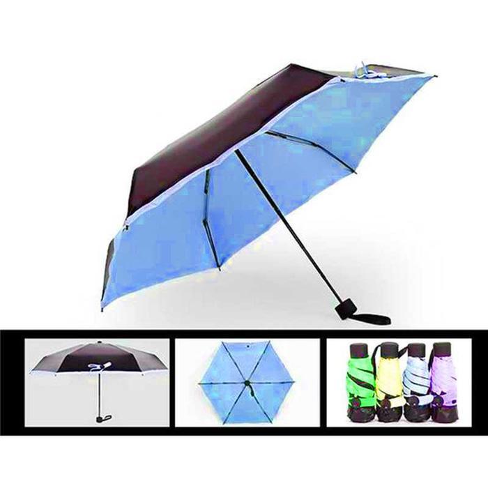 Payung Lipat Mini Portable - Biru
