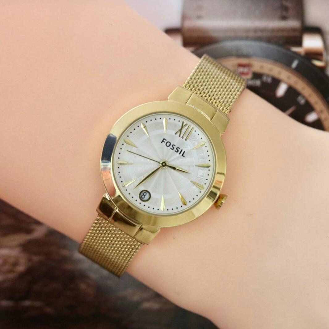 New Jam tangan wanita fosill tgl rantai pasir 6d97caabfa