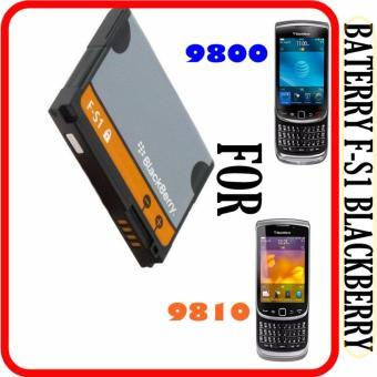 Baterai Blackberry FS1 F-S1 Torch 9800 9810 Original Batre Batai Battery Dual High Handphone HP Ori Tourch BB
