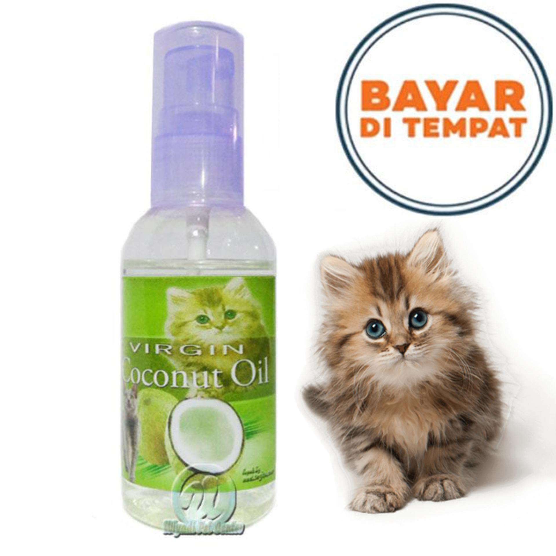 Obat Cacing Kucing Jamur Diare Kitten Penumbuh Bulu Hewan Herbal Vco By Lucky Petshop.