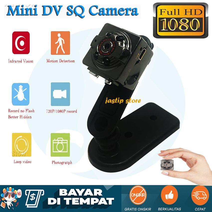 Spy Camera Mini Dv Sq8 Camera Full Hd 1920x1080 Kamera Keamanan Penghintai Tersembunyi
