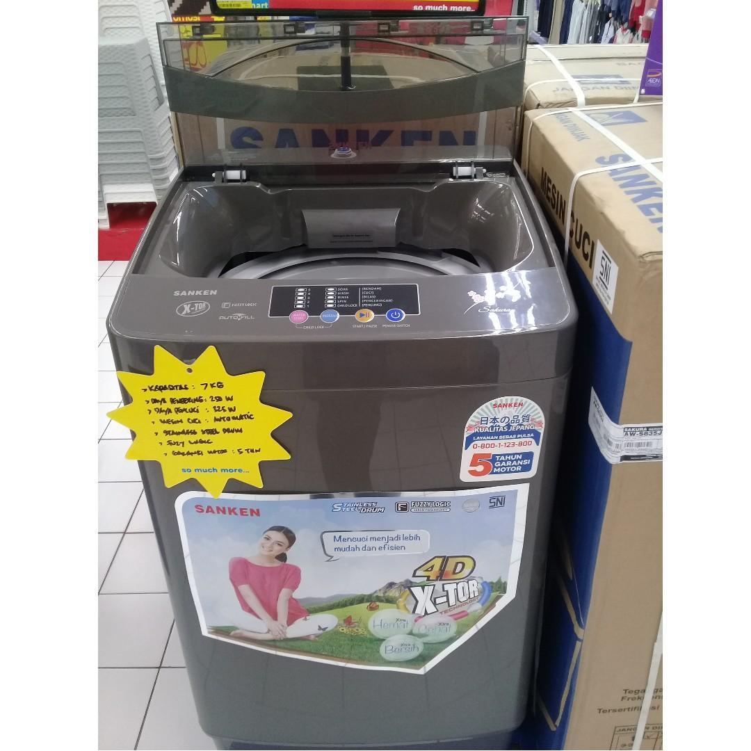 Mesin Cuci Sanken Aw S835j Membeli Jualan Online Mesin Cuci Dengan Harga Murah Lazada Indonesia