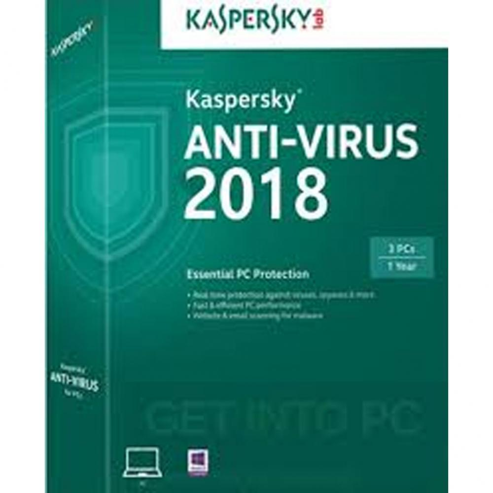 Kaspersky Anti Virus 2018 1 Pc 1 Year By Bhinneka Official Store.