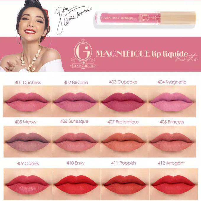Madame Gie Magnifique Lip Liquide Cream Matte - Lip Cream Madame Gie By Just Klik.