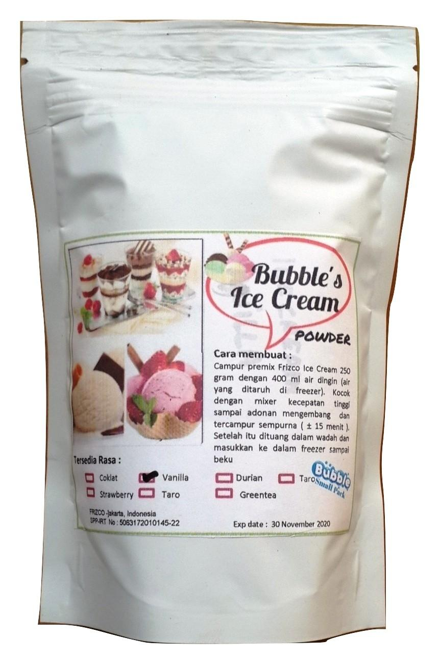 Vanilla Ice Cream Powder 250gr Bubuk Es Krim Frizco Vanila Orimoto Mart By Ori Moto Mart.