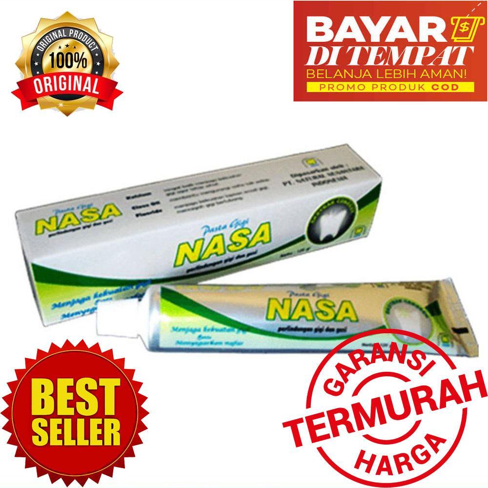 LOKA COD - Pasta Gigi NASA Odol Original 100% Sikat Gigi Herbal Dengan  Ekstrak Cengkeh 1fec76c481