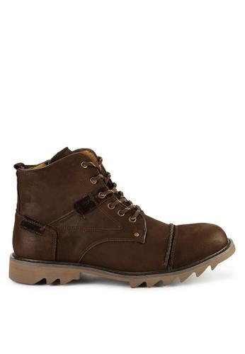 Jim Joker Sepatu Boots Kasual Desain Hi-top