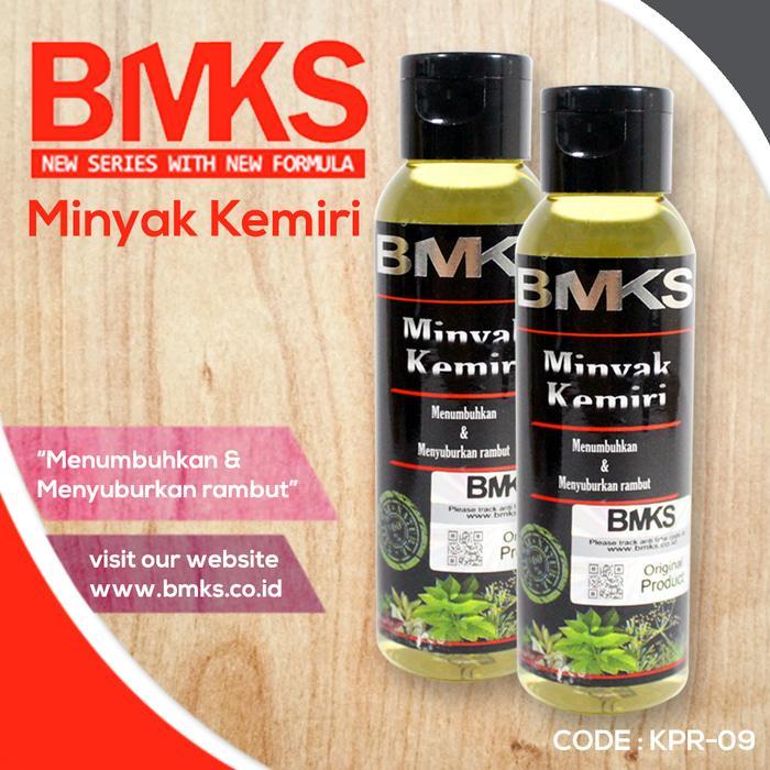 RHS - BMKS Minyak Kemiri Penyubur Penumbuh dan Penghitam Rambut BPOM | Lazada Indonesia