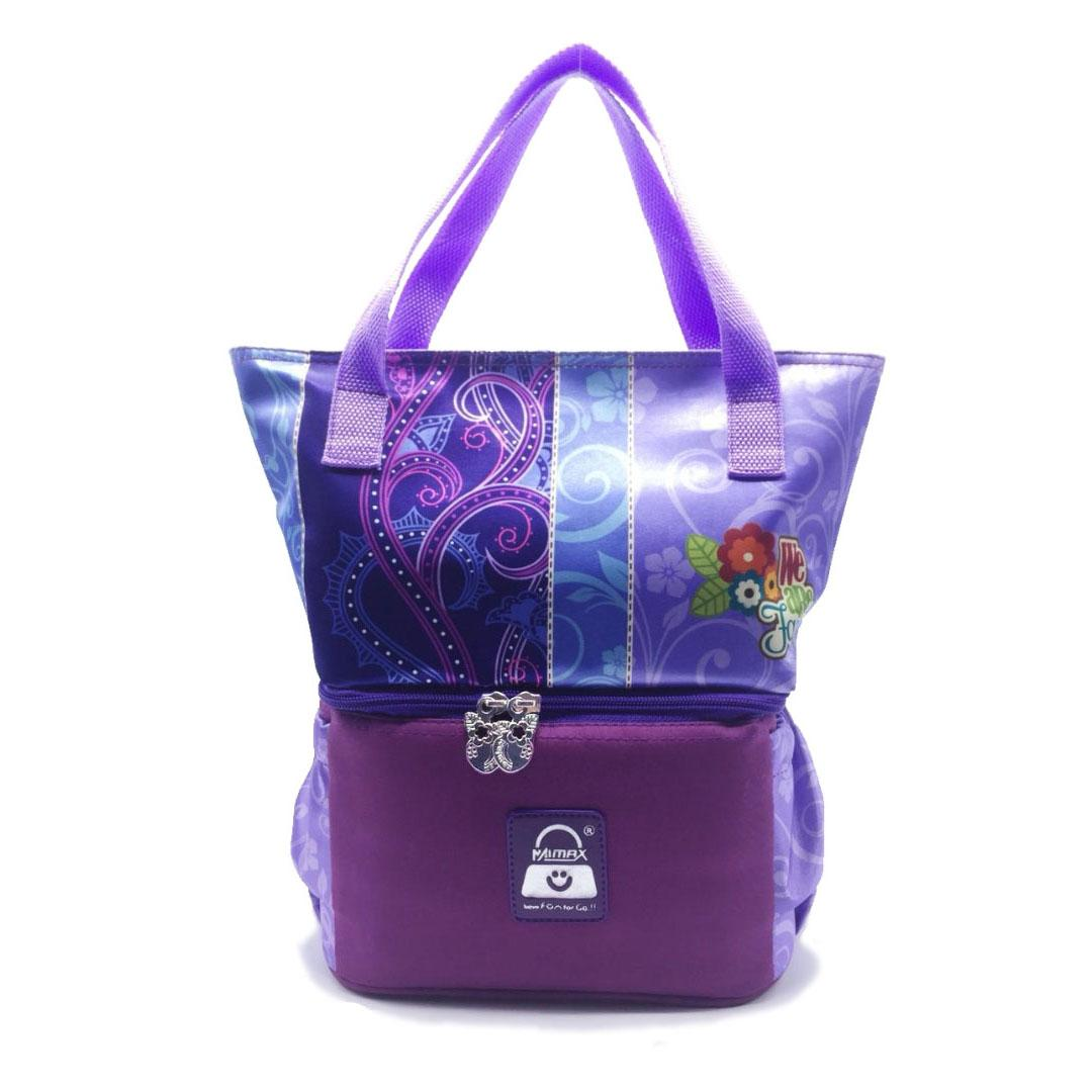 Coolerbag Naimax Louisiana Purple Flower By Mommy Baby Shop Indonesia.