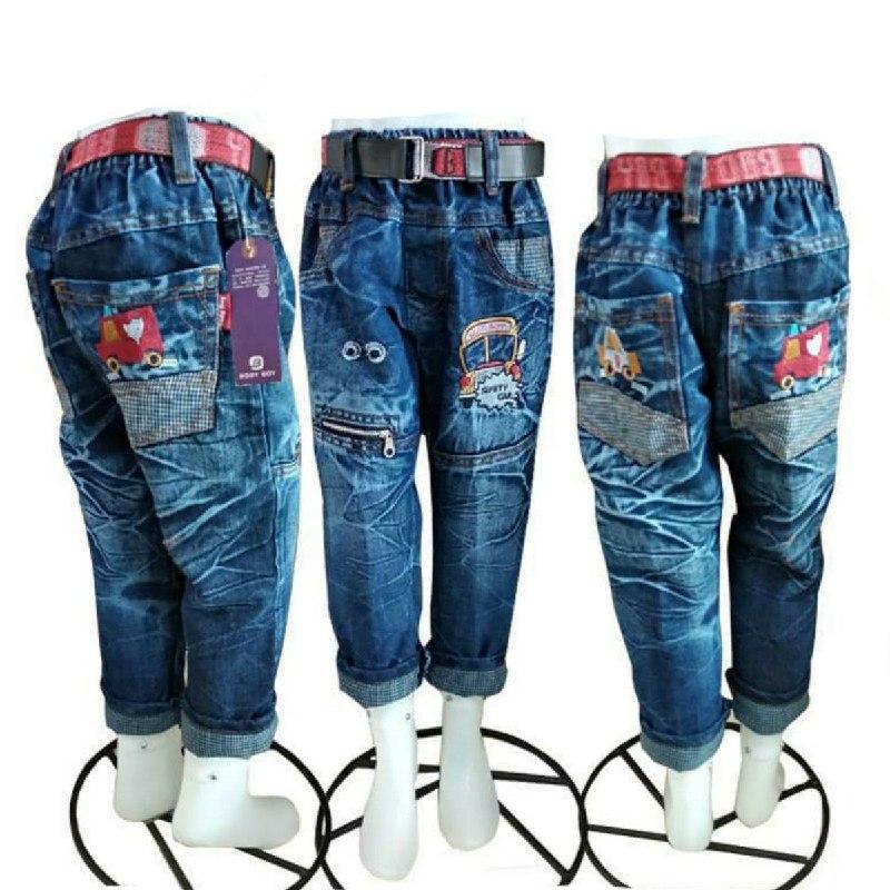 PROMO Celana Jeans Anak 1-6 Tahun Panjang Timang
