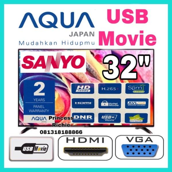 Led tv aqua sanyo 32 inch harga promo