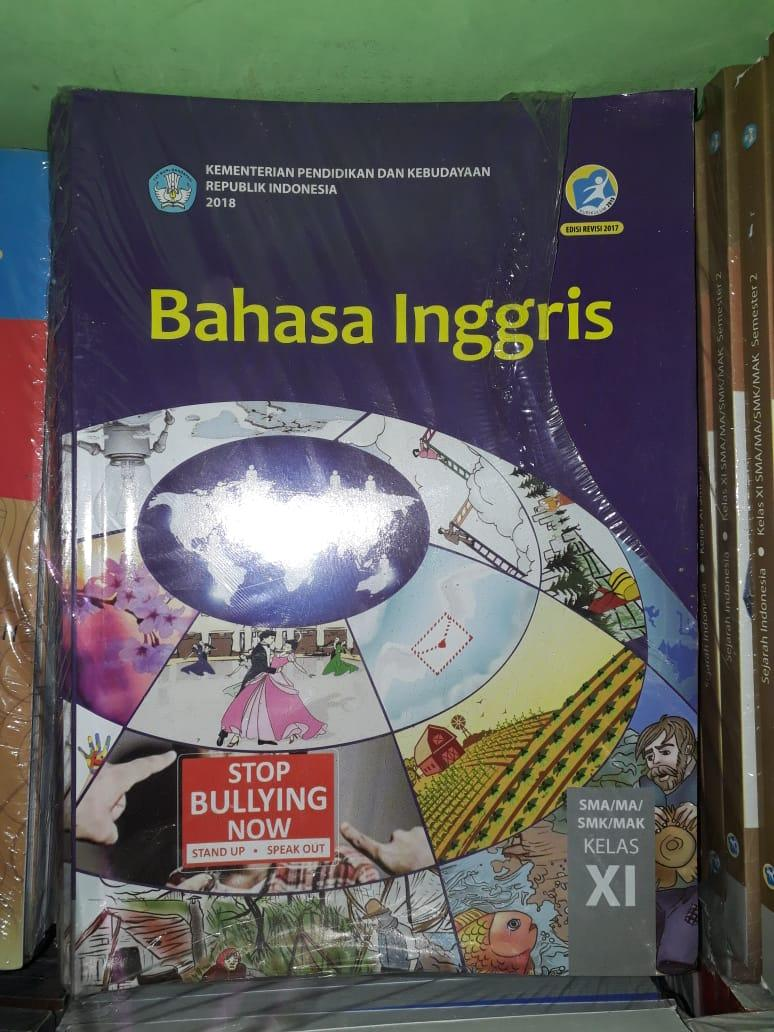 BUKU Bahasa Inggris kelas 11 untuk SM/MA/SMK/MAK