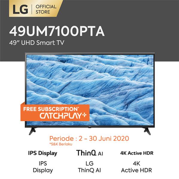 LG 4K UHD TV 49  - 49UM7100PTA