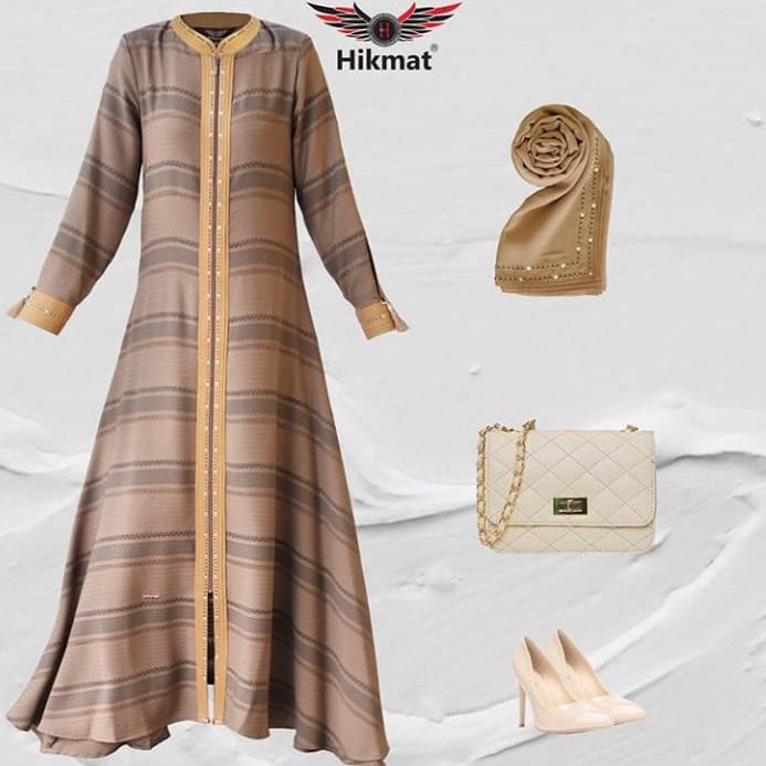 Baju Gamis Hikmat Terbaru Jilbab Gucci