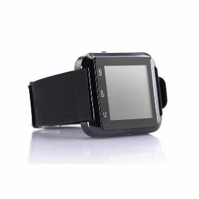 CUCI GUDANG I One U8 Smartwatch For Android and iOS Hitam Berkualitas