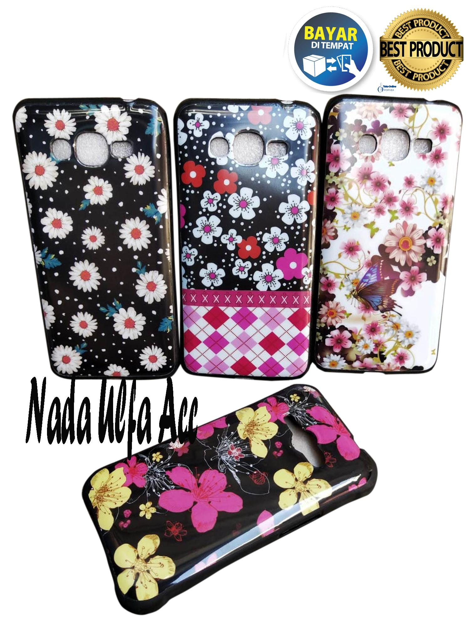 Case Softcase Karakter / Motif BUNGA CANTIK For Samsung Galaxy J2 Prime/Grand Prime G530