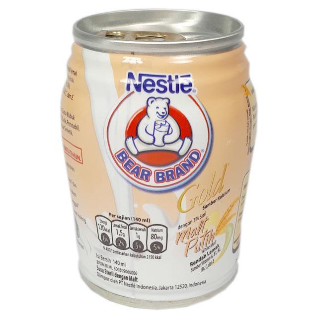 Bear Brand Gold White Malt 140ml