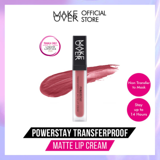 Make Over Powerstay Transferproof Matte Lip Cream - Tahan 14 Jam - Lipstik Matte thumbnail