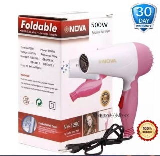NOVA 1290 Hair Dryer HairDryer lipat mini - 1290 - Original Mawar88shop thumbnail