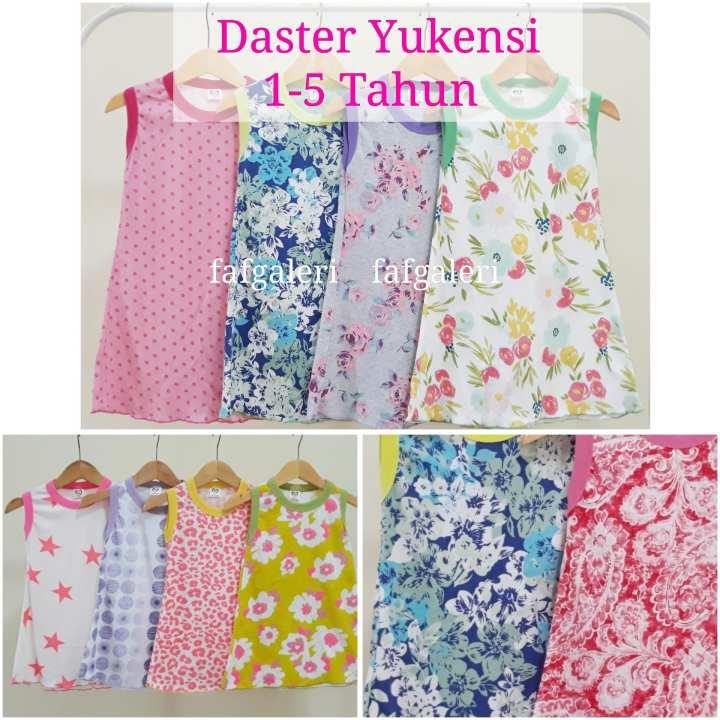 Daster Anak Yukensi 1-5 Tahun - Baju Pakain Anak Perempuan