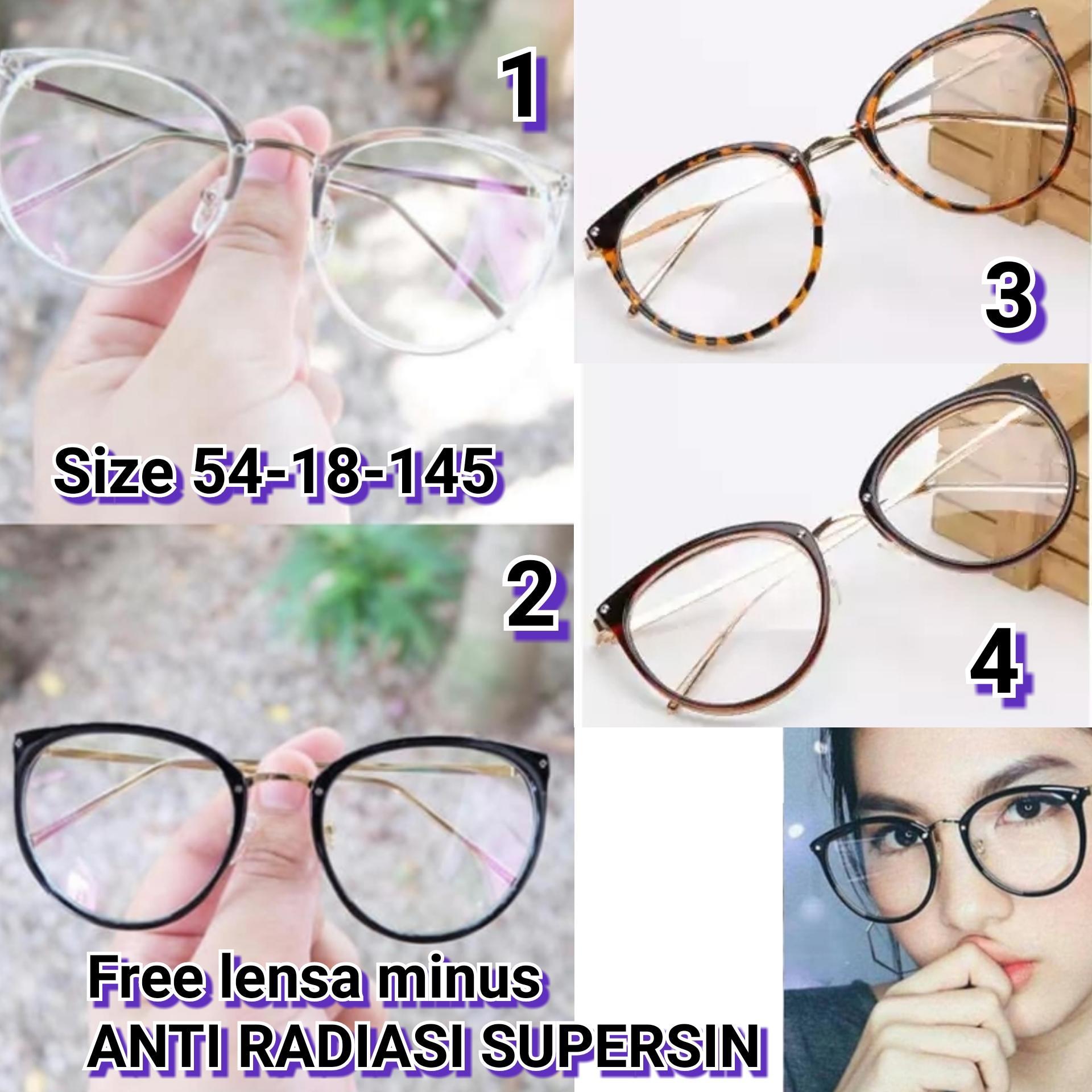 Frame Kacamata Trinity Kacamata baca kacamata bulat kacamata minus   plus  cylinder  kacamata anti radiasi 1415be7f1e