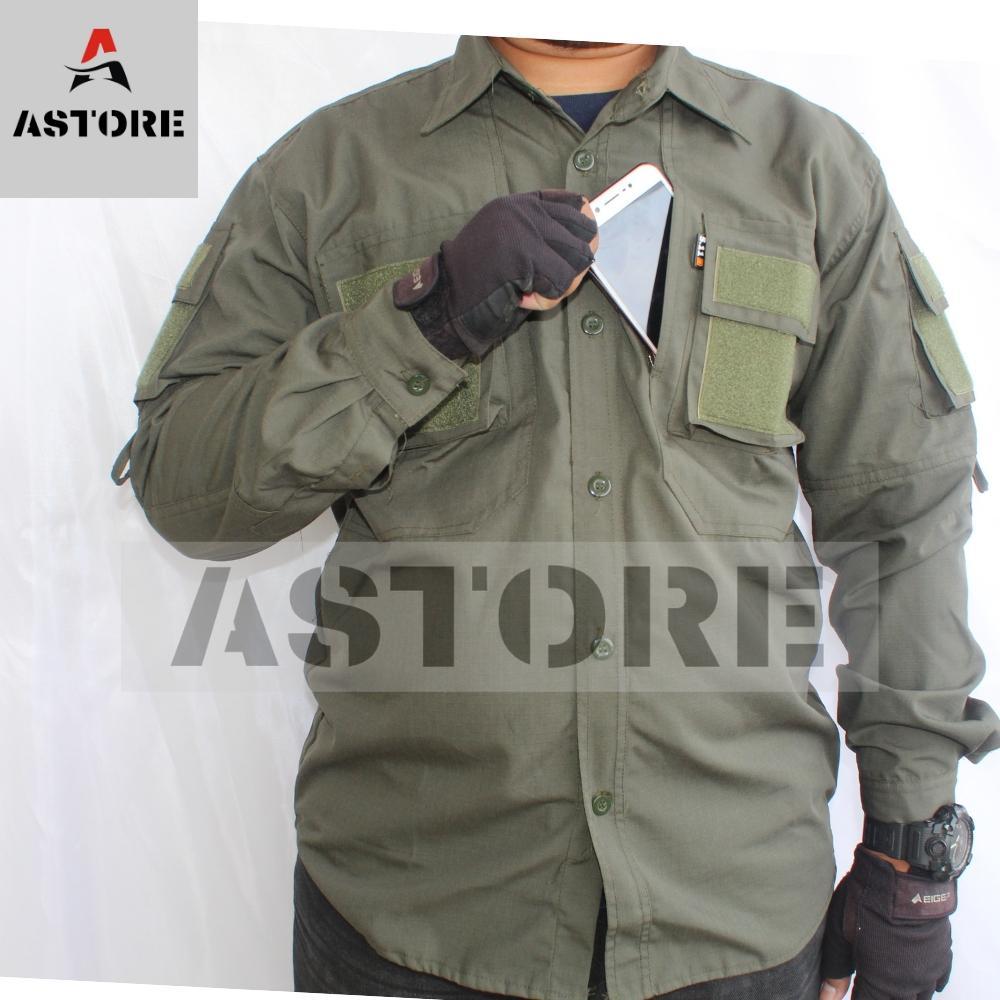 FMA Kemeja Tactical Panjang   Kemeja PDL   Outdoor 5.11  Cream   Krem  b15247426f