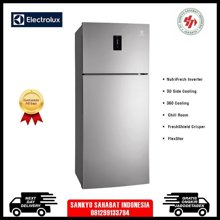 Electrolux etb4602aa kulkas 2 pintu 460L - garansi resmi - khusus jabodetabek