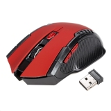 Kualitas 6 Tombol 2 4 Ghz Wireless Usb Mouse Mouse Optik Untuk Laptop Komputer Pc Game Oem
