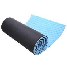 Harga 1 5 Cm Satu Yoga Tikar Berkemah Dengan Membawa Tali Untuk Latihan Luar Ruangan Biru Asli