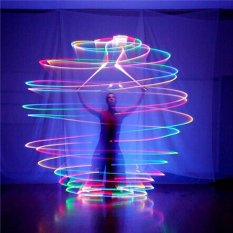 Jual 1 Pair Led Poi Thrown Balls For Professional Belly Dance Level Hand Props Intl Di Tiongkok